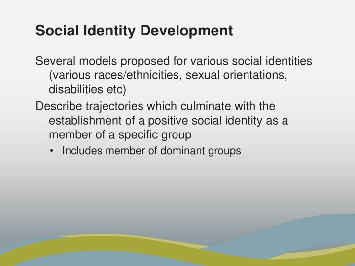 Social Identity Development