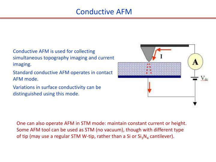 Conductive AFM