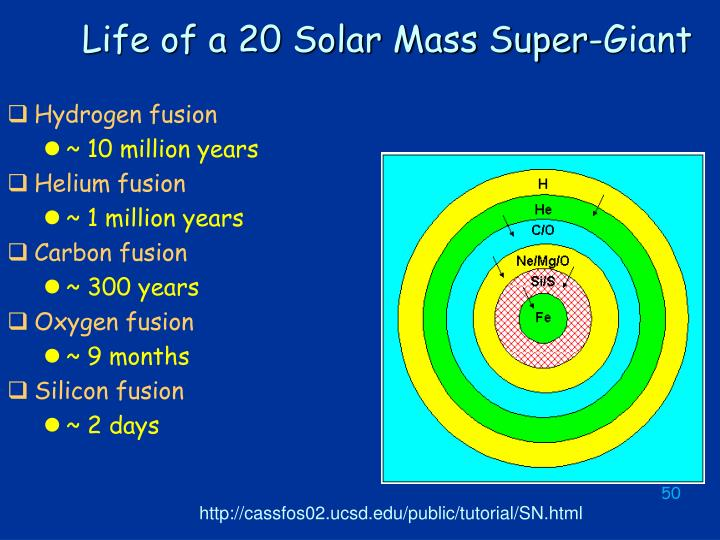Life of a 20 Solar Mass Super-Giant