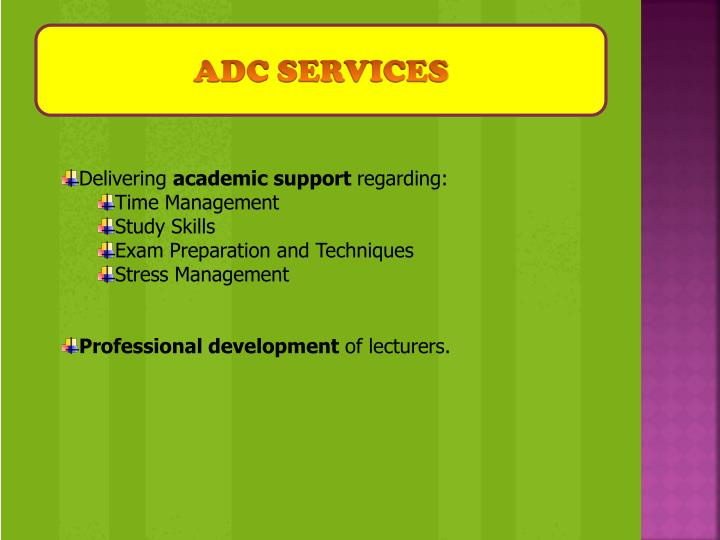Adc services