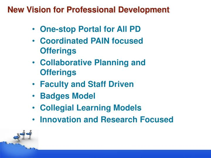 New Vision for Professional Development