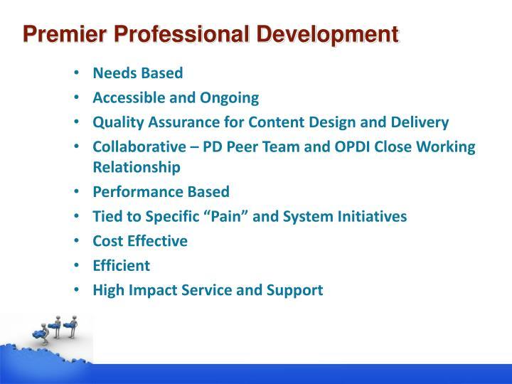 Premier Professional Development