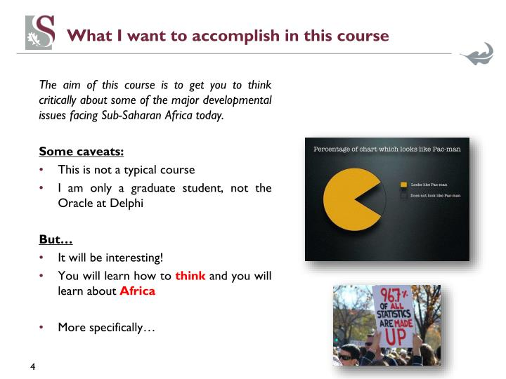What I want to accomplish in this course
