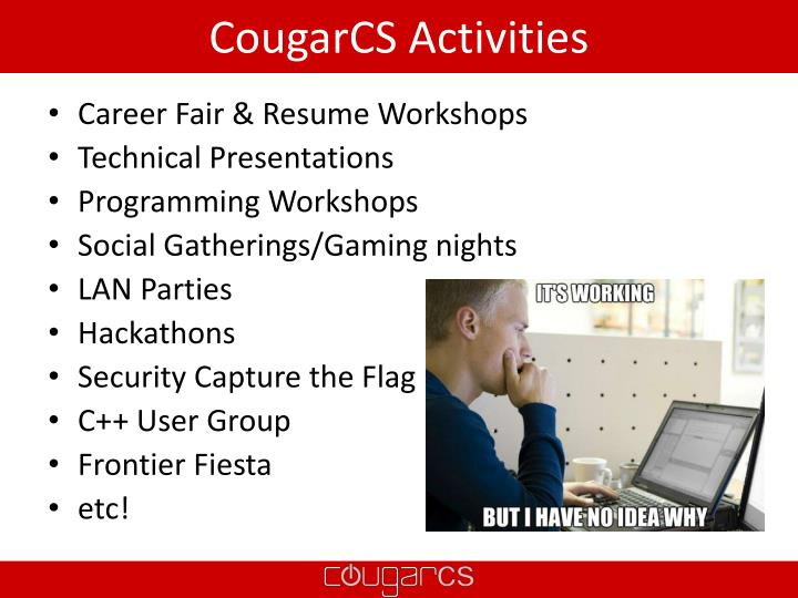 CougarCS Activities