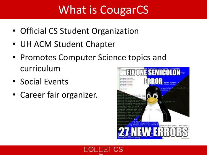 What is CougarCS