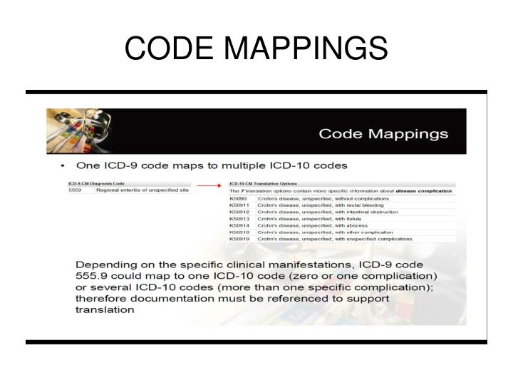 CODE MAPPINGS