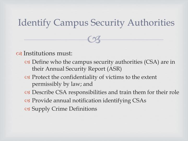 Identify Campus