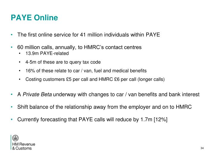 PAYE Online
