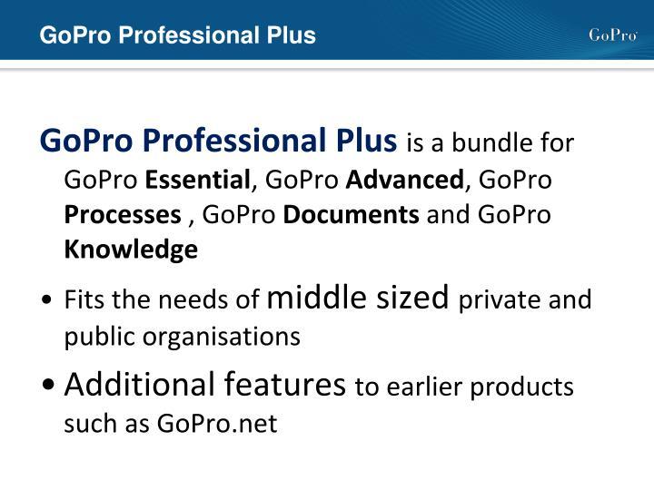 GoPro Professional Plus