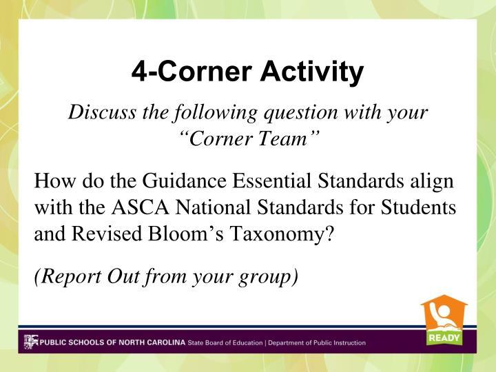 4-Corner Activity