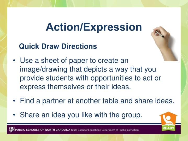 Action/Expression