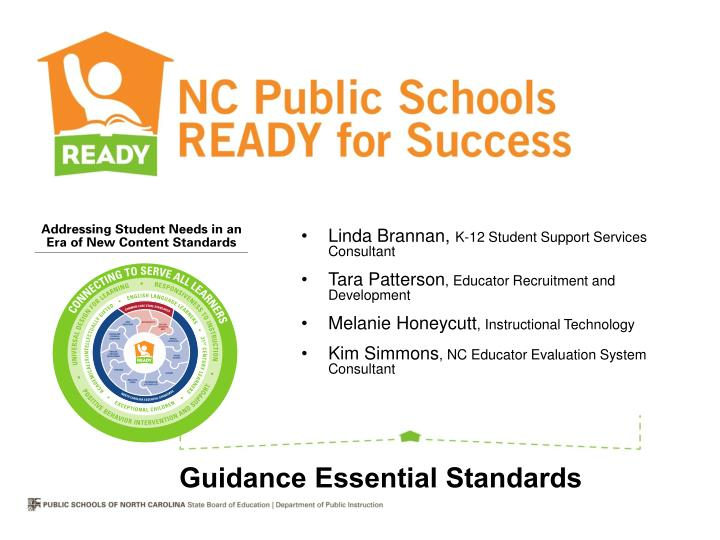 Guidance Essential Standards