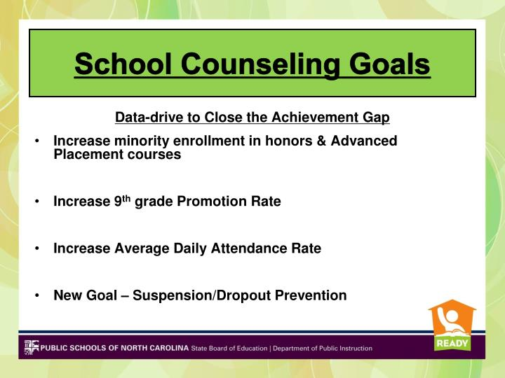School Counseling Goals