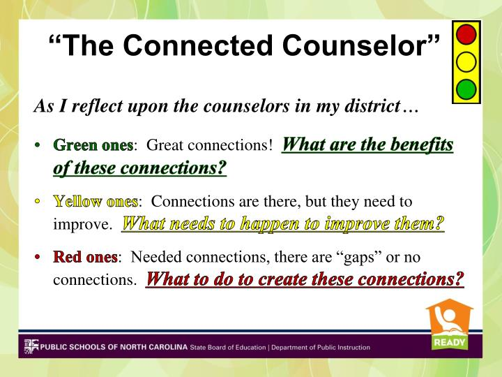 """The Connected Counselor"""