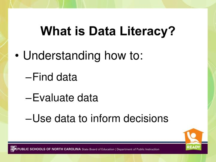 What is Data Literacy?