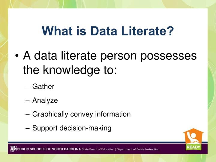 What is Data Literate?