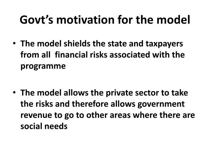 Govt's