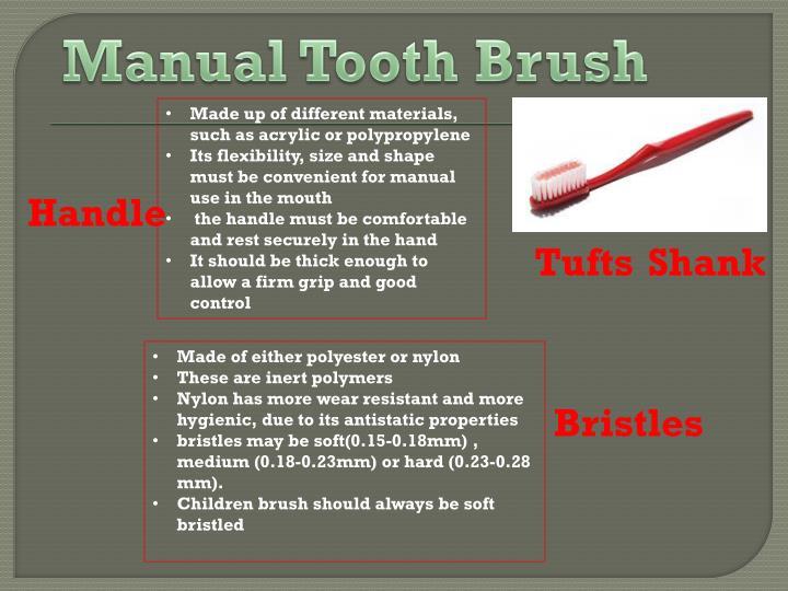 Manual Tooth Brush
