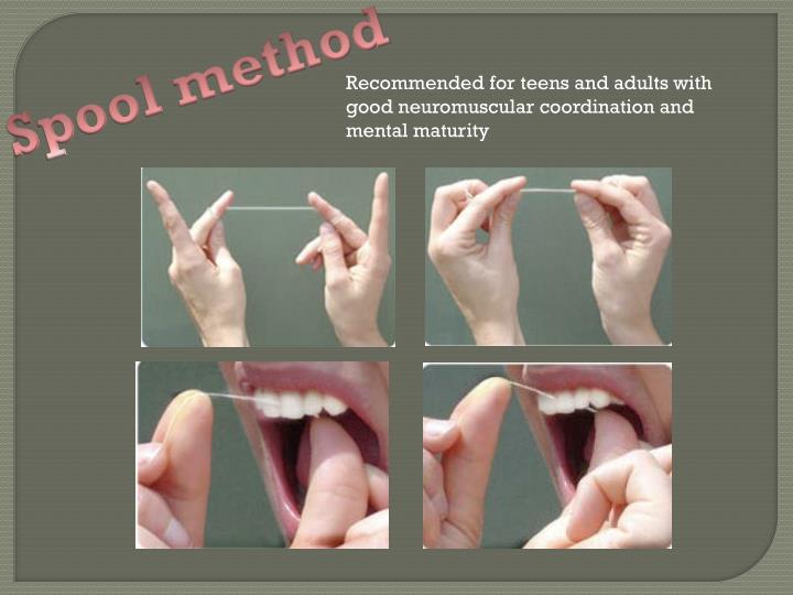 Spool method