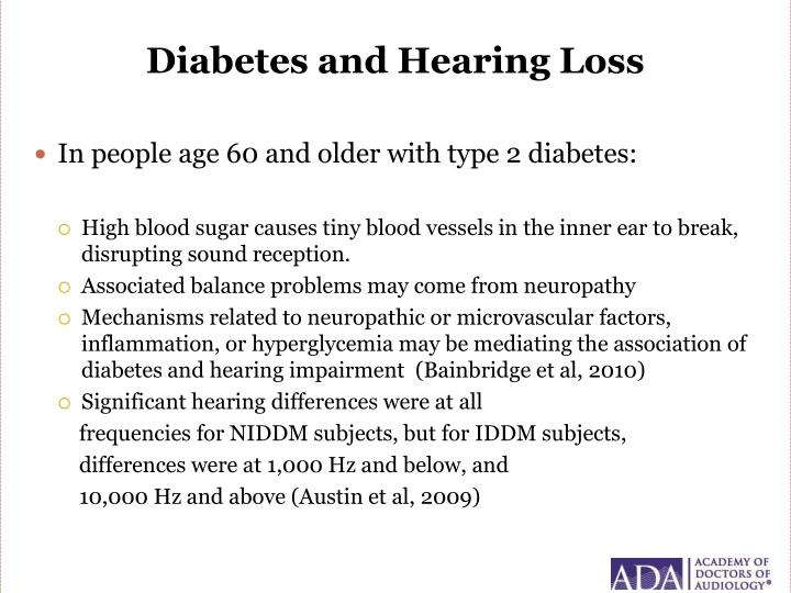 Diabetes and