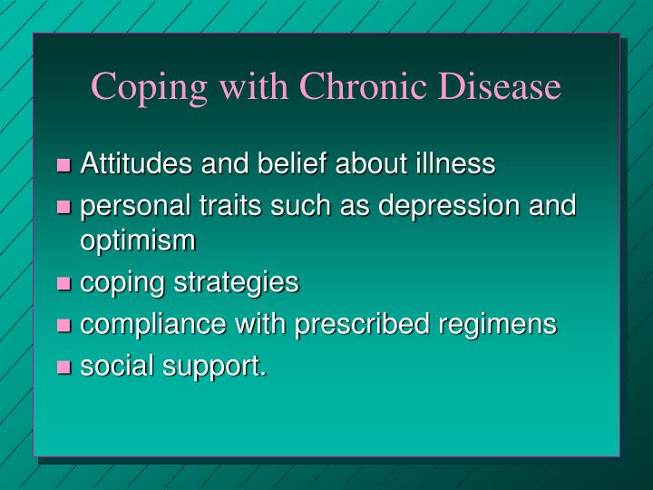 Coping with Chronic Disease