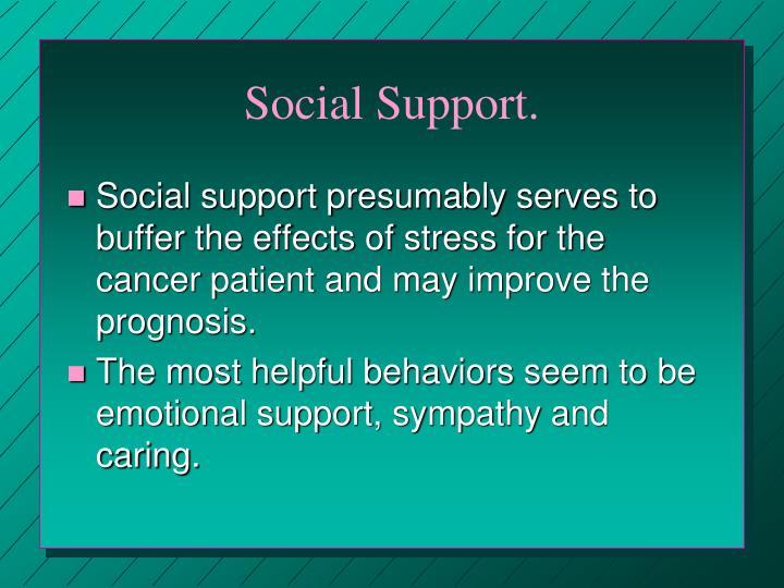 Social Support.