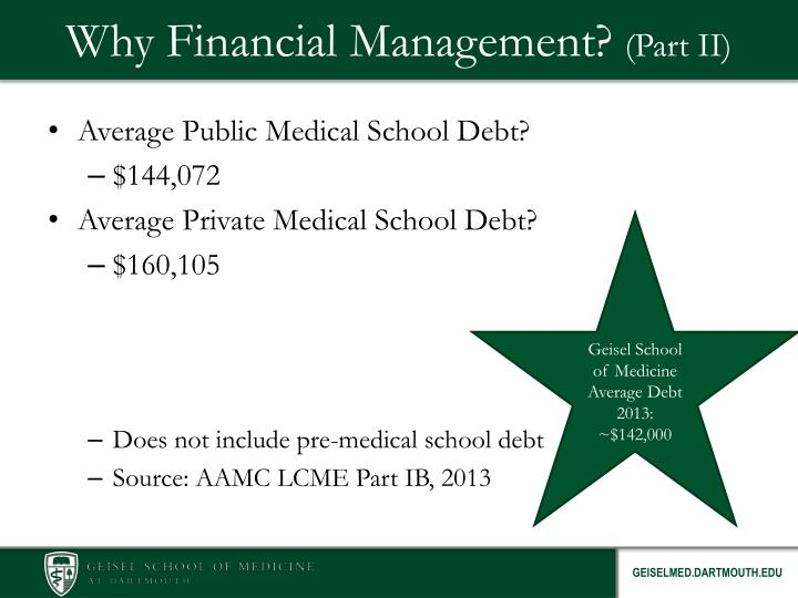 Why Financial Management