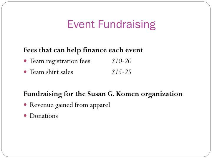 Event Fundraising