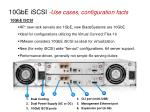 10gbe iscsi use cases configuration facts