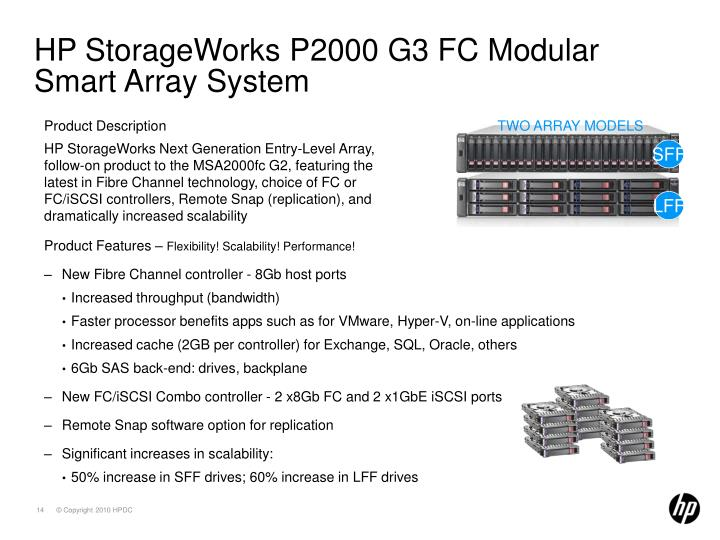 HP StorageWorks P2000 G3 FC Modular Smart Array System