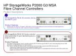 hp storageworks p2000 g3 msa fibre channel controllers