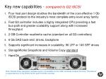 key new capabilities compared to g2 iscsi