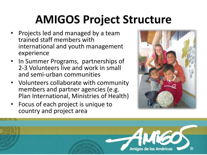 AMIGOS Project Structure
