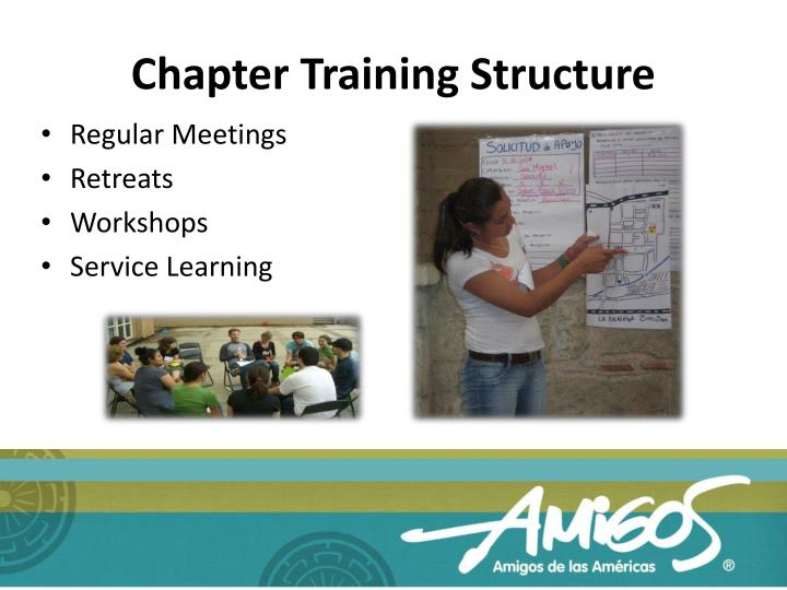 Chapter Training Structure