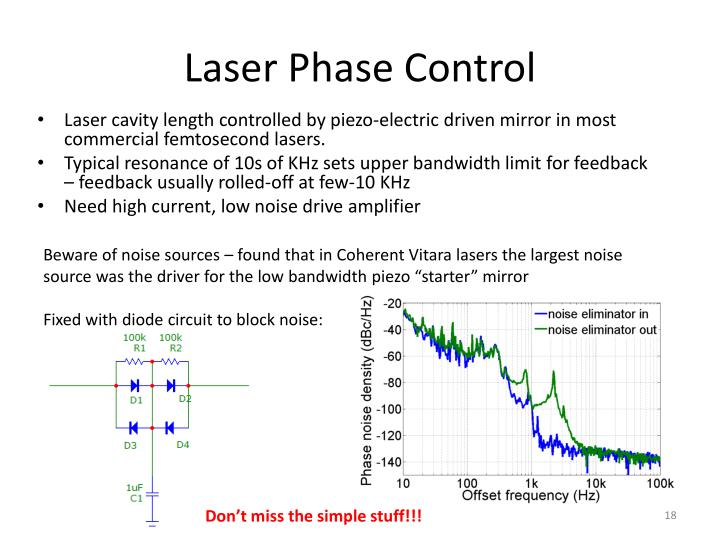 Laser Phase Control