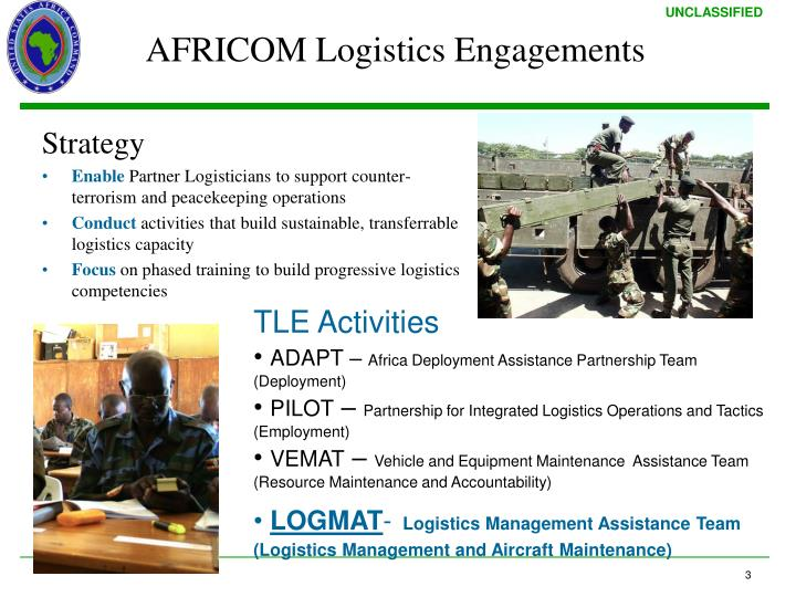 AFRICOM Logistics Engagements