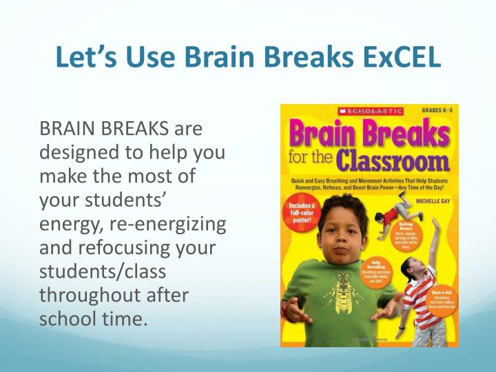 Let's Use Brain Breaks