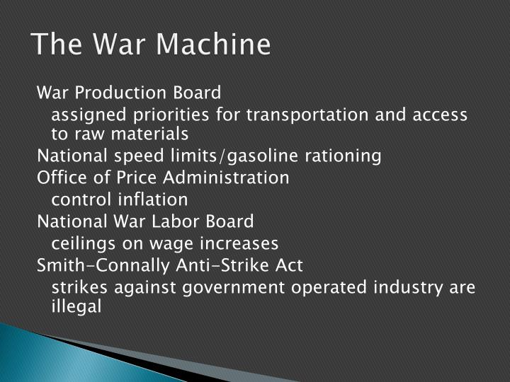 The War Machine