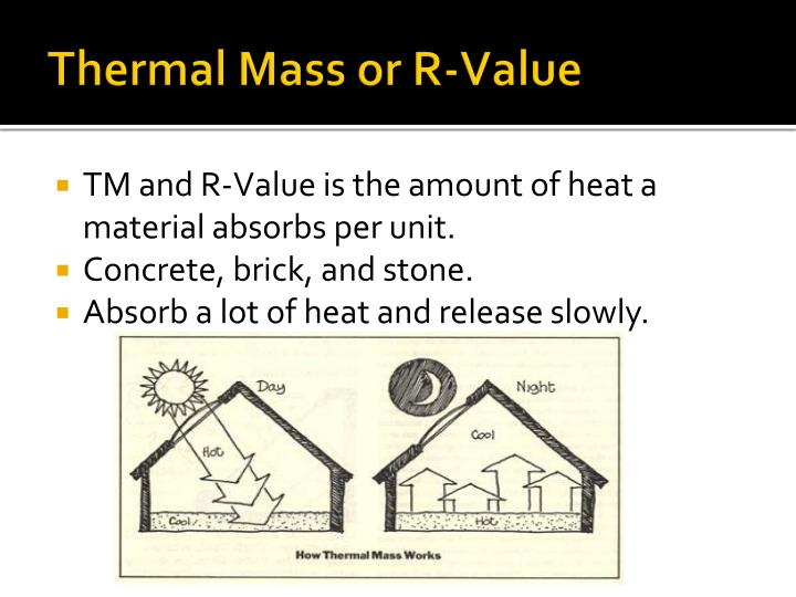 Thermal Mass or R-Value