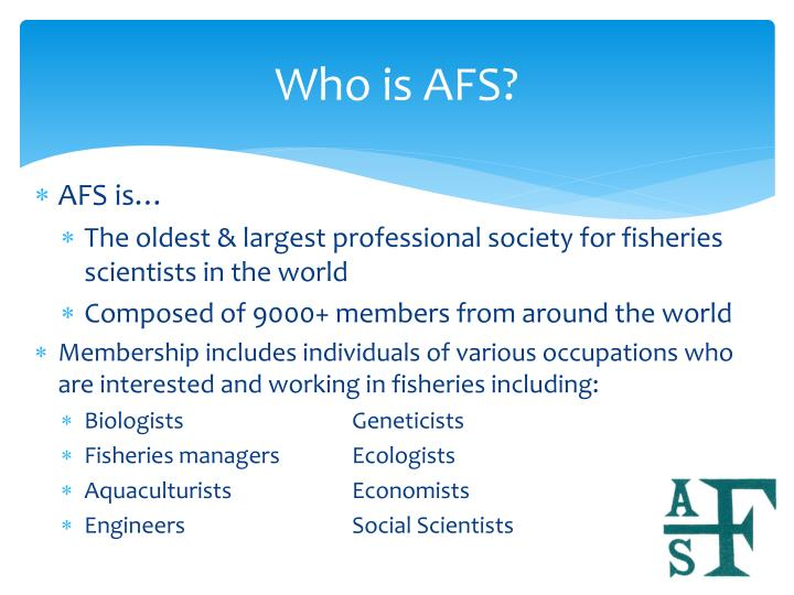 Who is AFS?