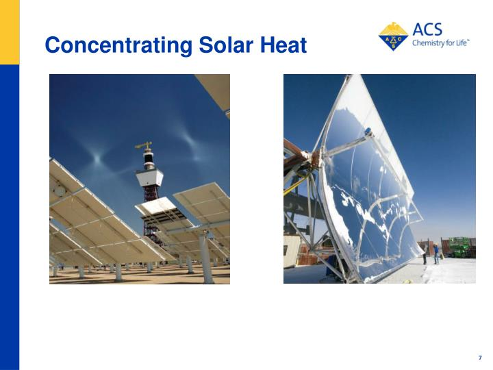 Concentrating Solar Heat