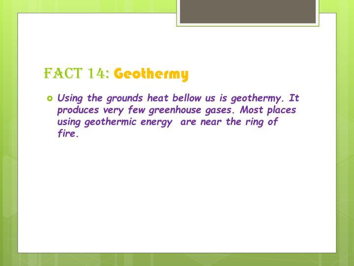 Fact 14: