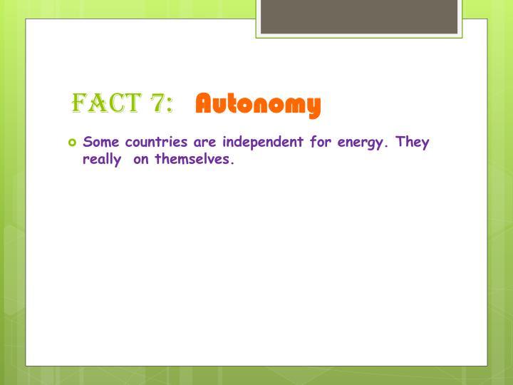 fact 7: