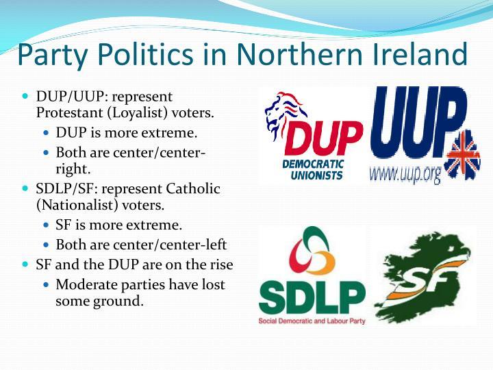 Party Politics in Northern Ireland
