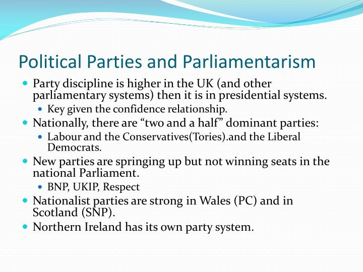 Political Parties and Parliamentarism