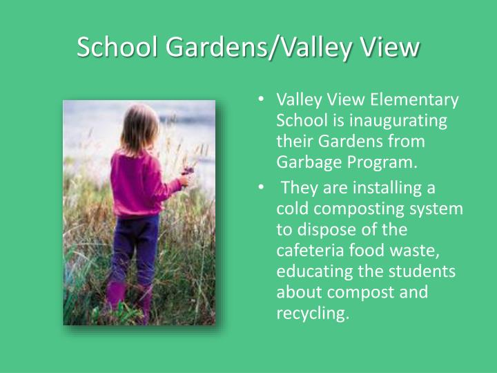 School Gardens/Valley View