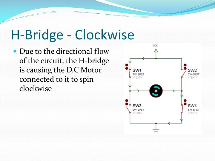 H-Bridge - Clockwise