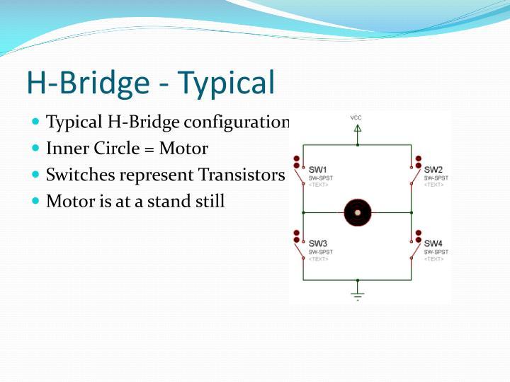 H-Bridge - Typical