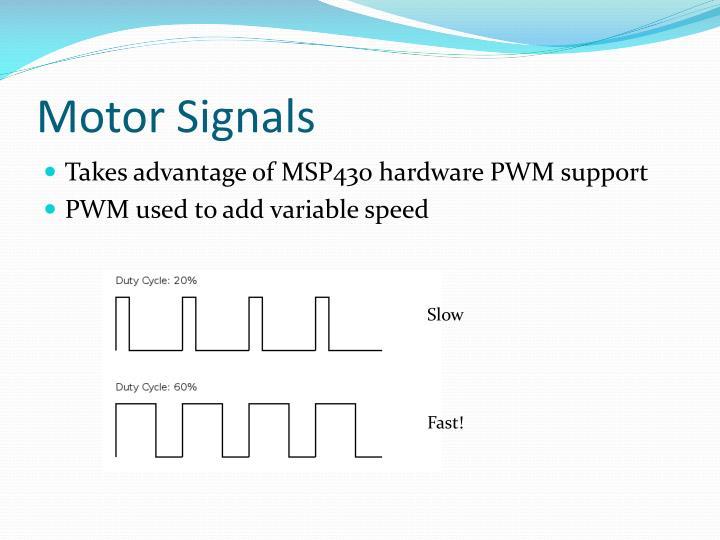 Motor Signals