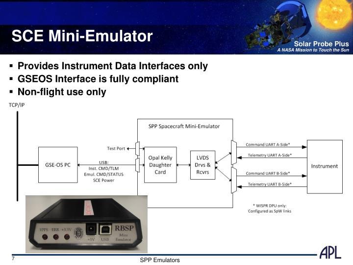 SCE Mini-Emulator
